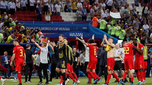 كأس العالم 2018: بلجيكا  تخلق المفاجئة  وتتأهل للدور نصف النهائي على حساب البرازيل