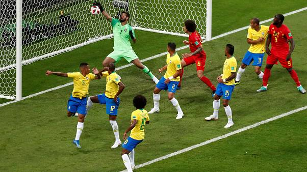 Belgium is elődöntős, 2-1-re verte Brazíliát