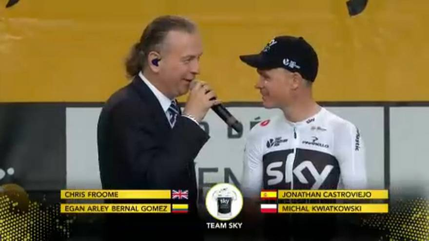 Ciclista Chris Froome