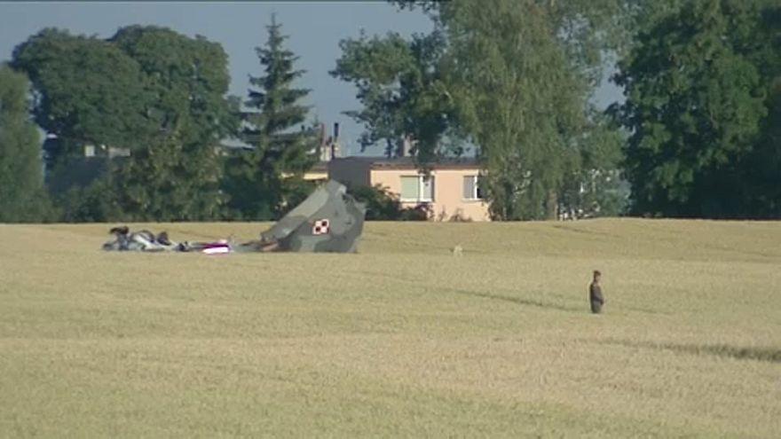 Lezuhant egy lengyel MiG-29-es