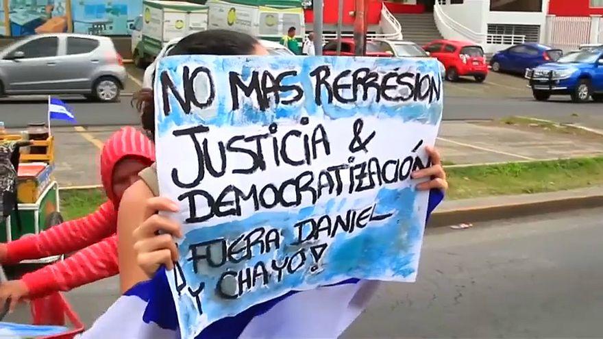 Quatro manifestantes mortos na Nicarágua