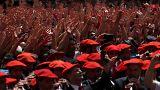 Ισπανία: Άρχισε το φεστιβάλ του Σαν Φερμίν