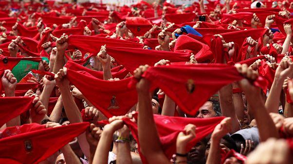Sanfermines na rua. Começaram os dias de desassossego em Pamplona