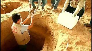 شاهد: العثور على 15 جثة في مقابر تنتمي لحضارة الإنكا ببيرو