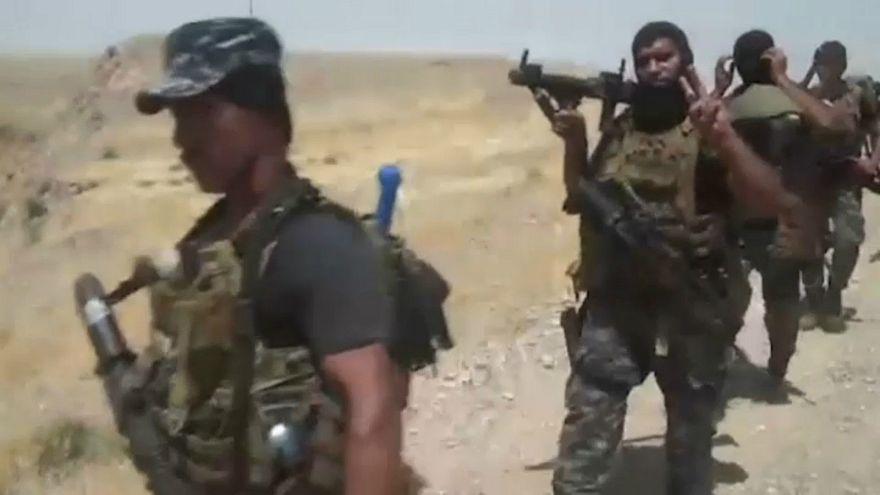 القوات العراقية تهاجم عناصر داعش قرب كركوك