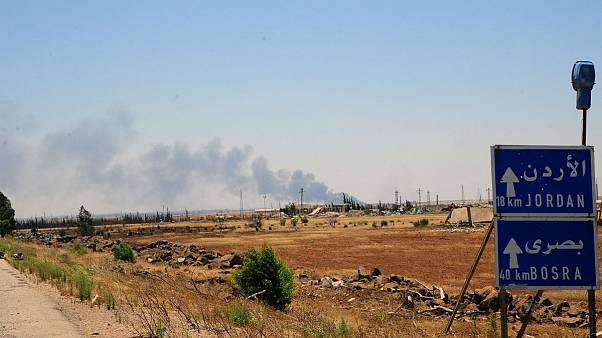 جنگ در سوریه در استان درعا