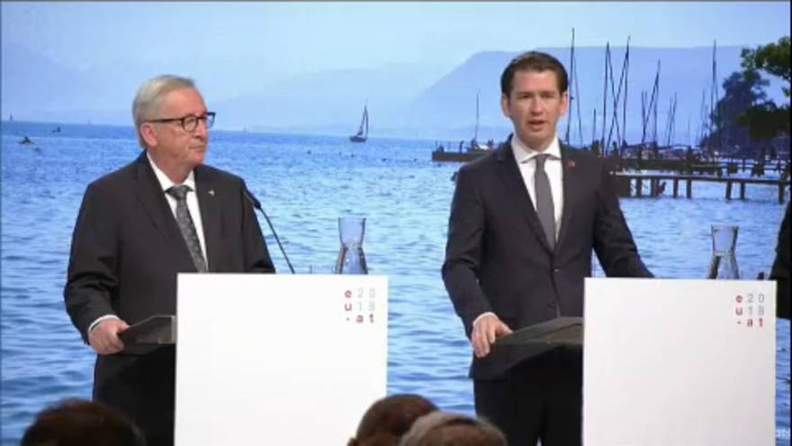 Migration: EU and Austria 'on same page'