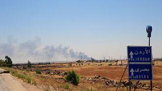 المعارضة السورية تستسلم في الجنوب والقوات الحكومية تسيطر على معبر مع الأردن
