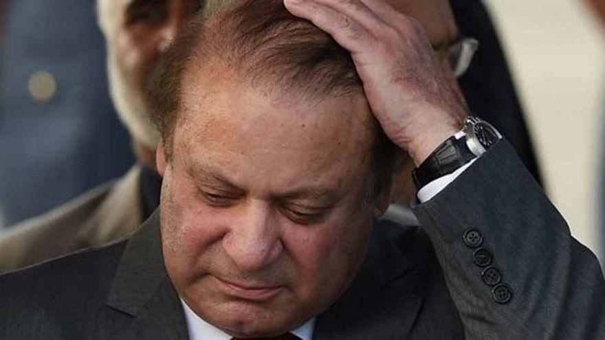 سجن رئيس وزراء باكستان السابق نواز شريف 10 سنوات بتهمة الفساد