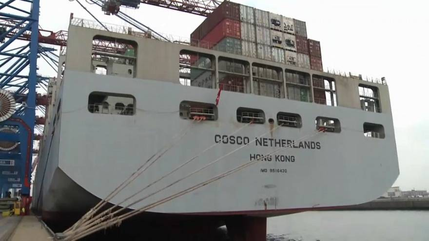 "EU says US-Chinese trade tariffs ""bad for world trade"""