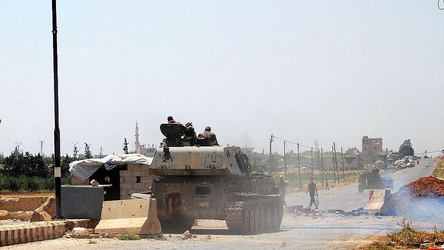 Suriye'nin güneybatısında ateşkes ilan edildi