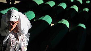 Srebrenitsa soykırımı kurbanlarına Hırvatistan Meclisi'nde anma