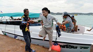 Жертвами крушения катера в Таиланде могут стать 60 человек