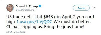 منبع: حساب توئیتری دونالد ترامپ