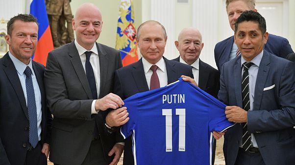 Πούτιν: «Το Μουντιάλ αλλάζει την εικόνα της Ρωσίας στον υπόλοιπο κόσμο»