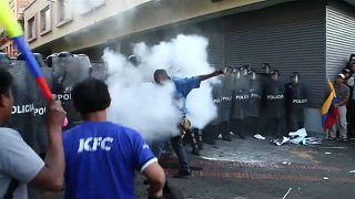 La ira de los seguidores de Correa inflama las calles de Quito