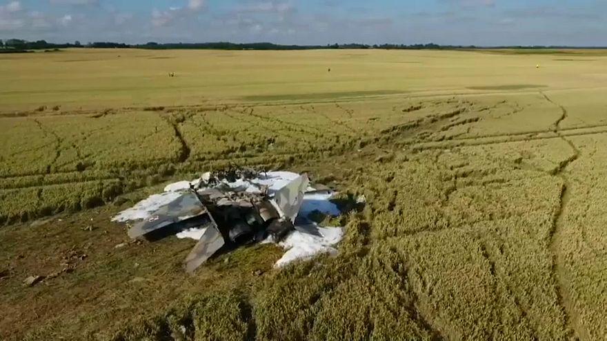 Kampfjet-Absturz: Pilot tot