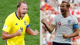 Suécia e Inglaterra buscam lugar na semifinal