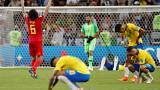 Mondial-2018 : la Belgique se qualifie pour la demi-finale en battant le Brésil (2-1)