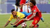 Brasil sucumbe ante una imponente Bélgica