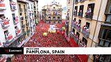 Pamplona: comincia la festa di San Firmino