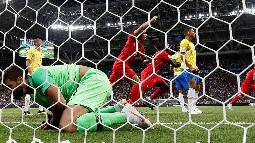 Gizli favori Belçika Brezilya'yı eve gönderdi