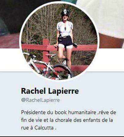 منبع: حساب شخصی توئیتر راشل لاپیر