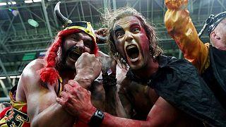 Belgio - Brasile, le reazioni dei tifosi