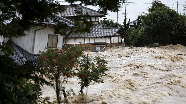 At least 88 killed in floods across Japan, two million are told to evacuate