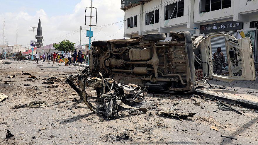 Al menos 10 muertos en un ataque yihadista en Mogadiscio
