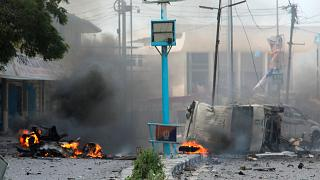 Серия взрывов в Сомали
