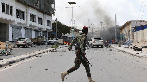 جرحى في انفجارين هزّا العاصمة الصومالية مقديشو