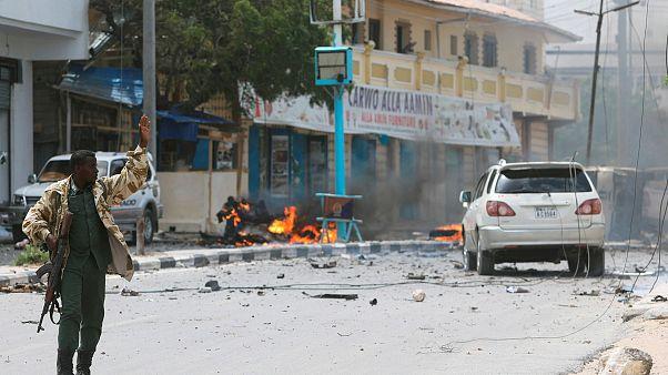 Бой в столице Сомали