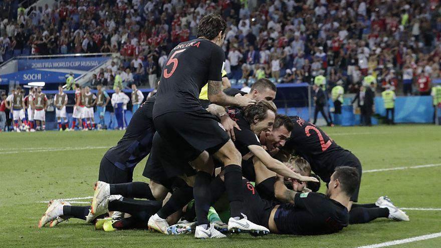 كأس العالم 2018: كرواتيا تقصي الدب الروسي وتتأهل للدور نصف النهائي بفضل ركلات الجزاء الترجيحية