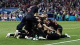 Rusya'yı eleyen Hırvatistan 20 sene sonra Dünya Kupası yarı finalinde