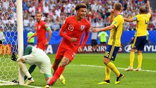 كأس العالم 2018: منتخب الأسود الثلاثة يفوز على السويد ب 2-0 ويتاهل للدور نصف النهائي