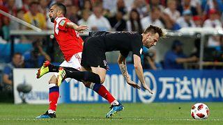 مسابقه کرواسی و روسیه در جام جهانی ۲۰۱۸