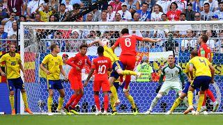 Inglaterra gana 2-0 a Suecia y se clasifica para las semifinales del Mundial