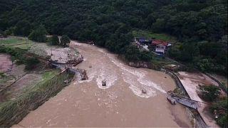 Поисково-спасательные операции в Японии