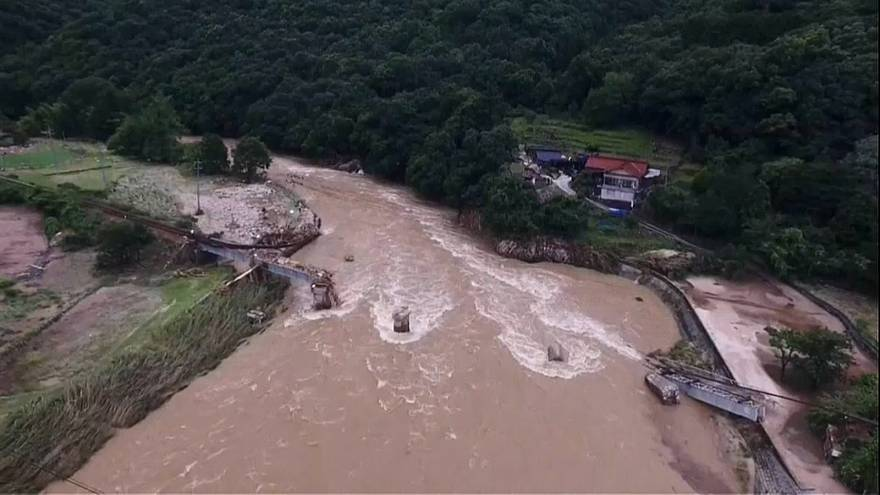 Rescue operations continue in western Japan after severe flooding