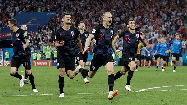 Хорваты пробились в полуфинал