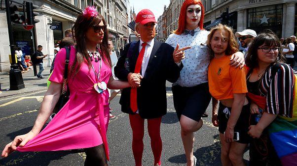 Adivinhem quem foi ao 'gay pride' em Londres