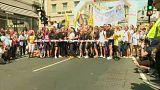 London mayor Sadiq Khan opens Pride parade