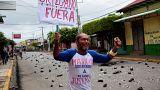 Masaya se manifiesta nuevamente contra el presidente de Nicaragua, Daniel Ortega