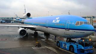 پروازهای کی.ال.ام به ایران لغو میشود