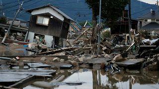Mais de 70 mortos por causa das cheias no Japão