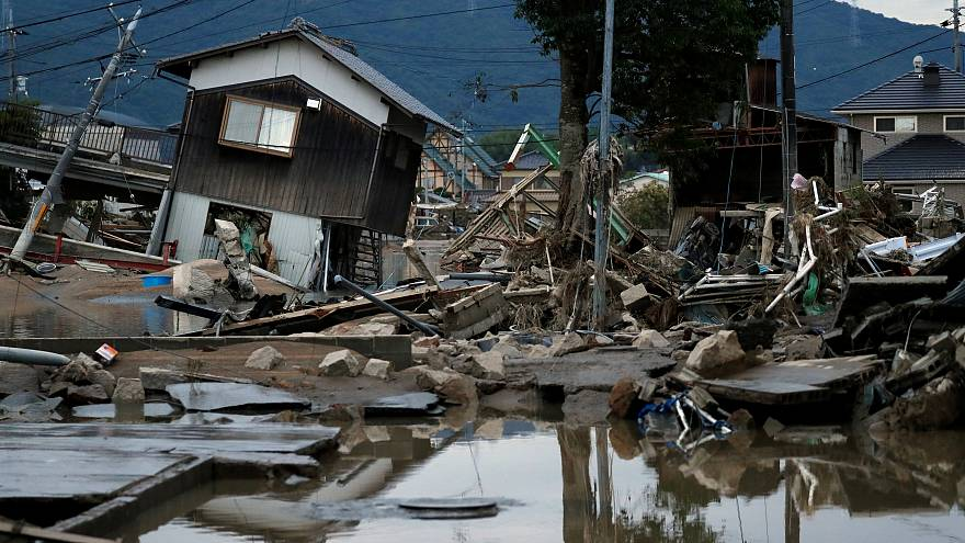 More than 80 people killed after massive floods hit Japan