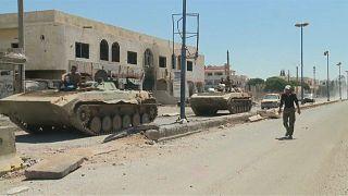 Damasco recupera fronteira com a Jordânia