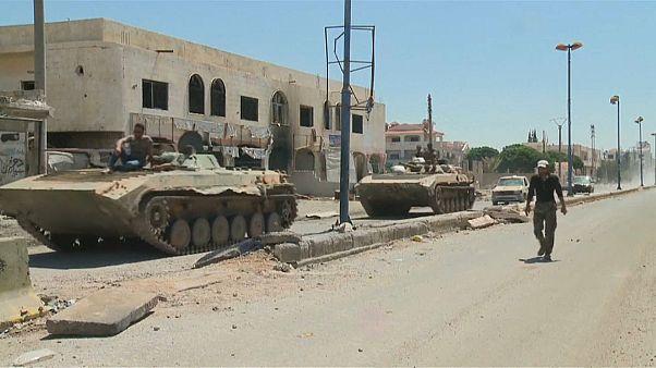 Сирийская армия вышла к границе с Иорданией
