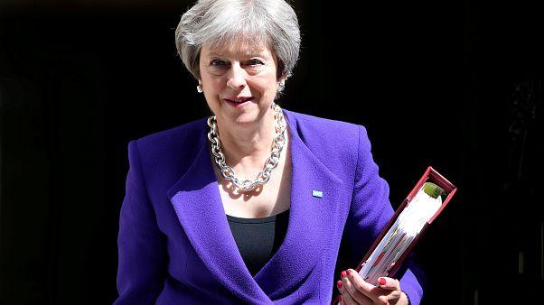 """Brexit, May: """"Stop alla libera circolazione"""""""